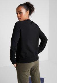Deha - FELPA GIROCOLLO - Sweatshirts - black - 2