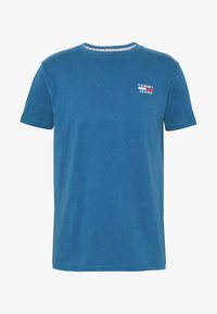 Tommy Jeans - CHEST LOGO TEE - Print T-shirt - audacious blue - 3