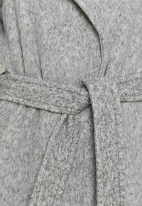 Vero Moda Tall - VMBRUSHEDDORA JACKET - Classic coat - light grey melange - 2
