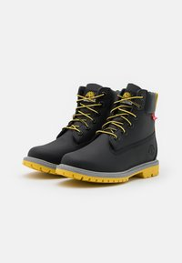Timberland - 6IN HERT CUPSOLE - Lace-up ankle boots - black helcor - 2
