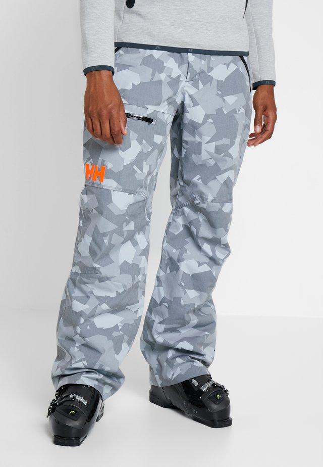 SOGN CARGO PANT - Pantalón de nieve - quiet shade