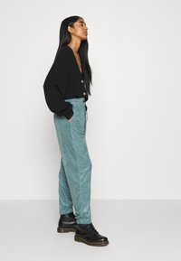 Topshop - TOWLLING JOGGER - Tracksuit bottoms - ice blue - 3