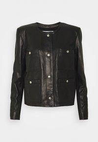 Iro - COMPLET  - Leather jacket - black - 5
