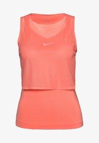 Nike Performance - DRY TANK - Camiseta de deporte - sunblush/white - 3