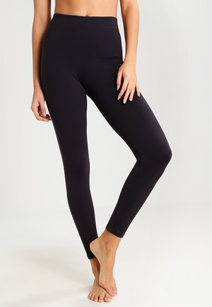 FAT FREE DRESSING  - Leggings - black
