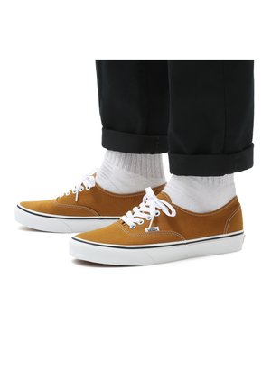 Casual lace-ups - golden brown/true white