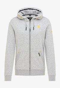 Schmuddelwedda - Zip-up hoodie - hellgrau melange - 4