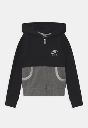AIR - veste en sweat zippée - black