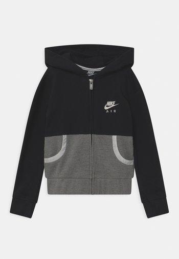 AIR - Zip-up sweatshirt - black