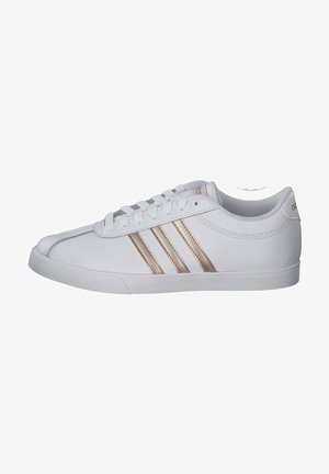 Trainers - white/goldbronze