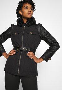 River Island - Light jacket - black - 4