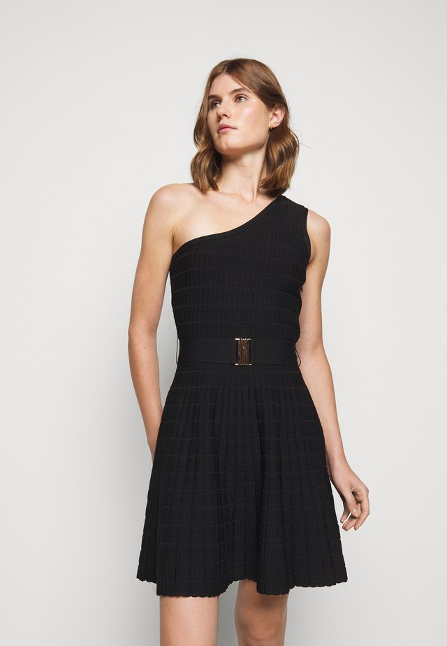MONIC - Jumper dress - noir