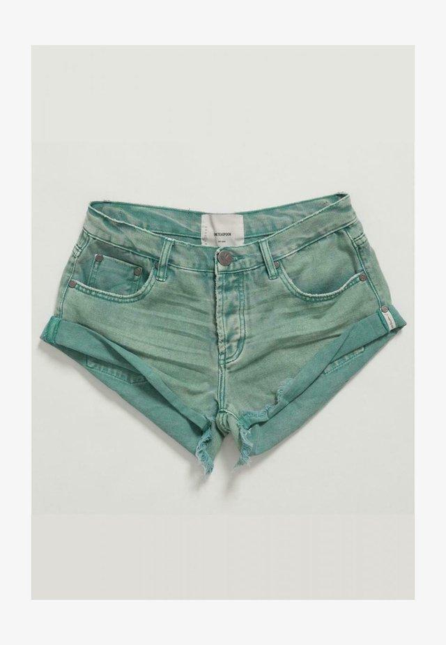 Shorts vaqueros - seagrass