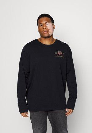 PLUS MEDIUM ARCHIVE SHIELD - T-shirt à manches longues - black