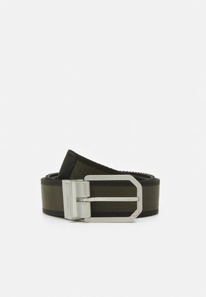 CUT OUT BUCKLE - Belt - black