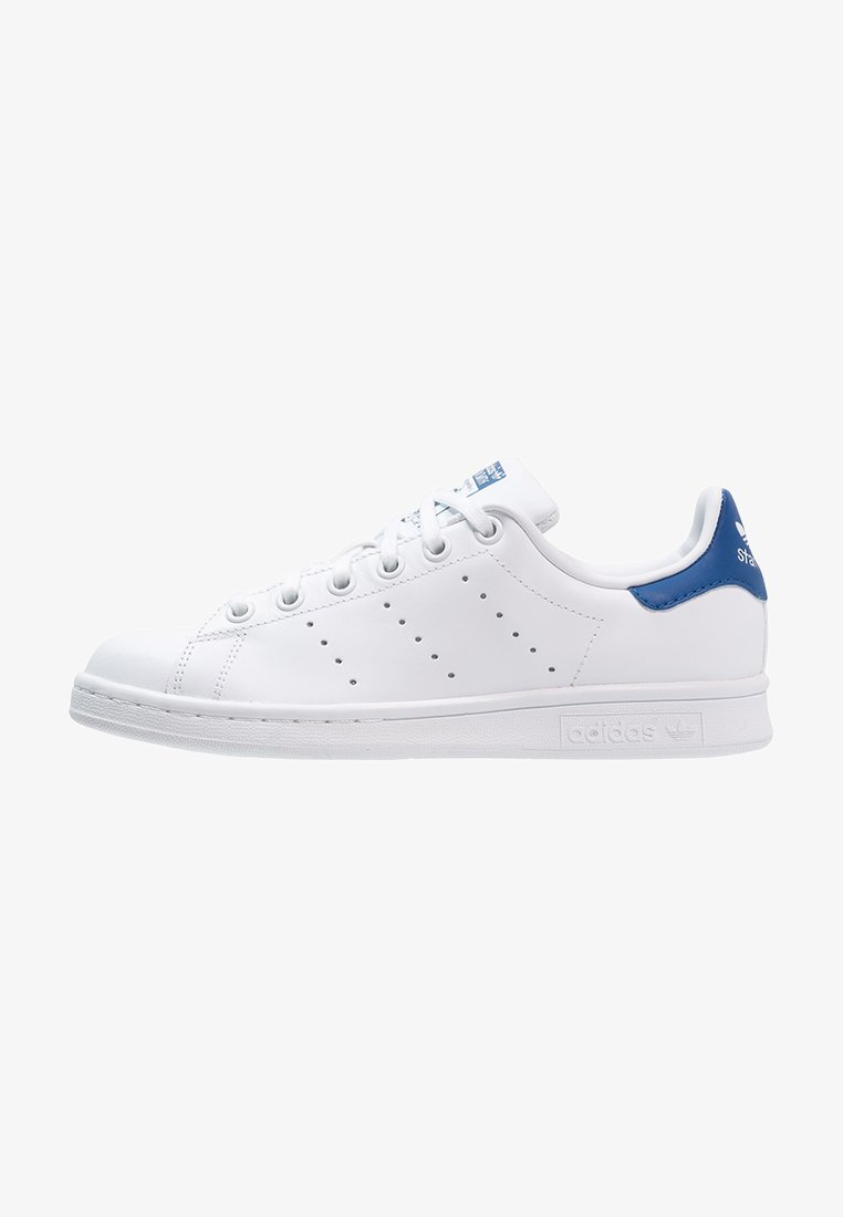 adidas Originals - STAN SMITH - Sneakers - blanc/bleu
