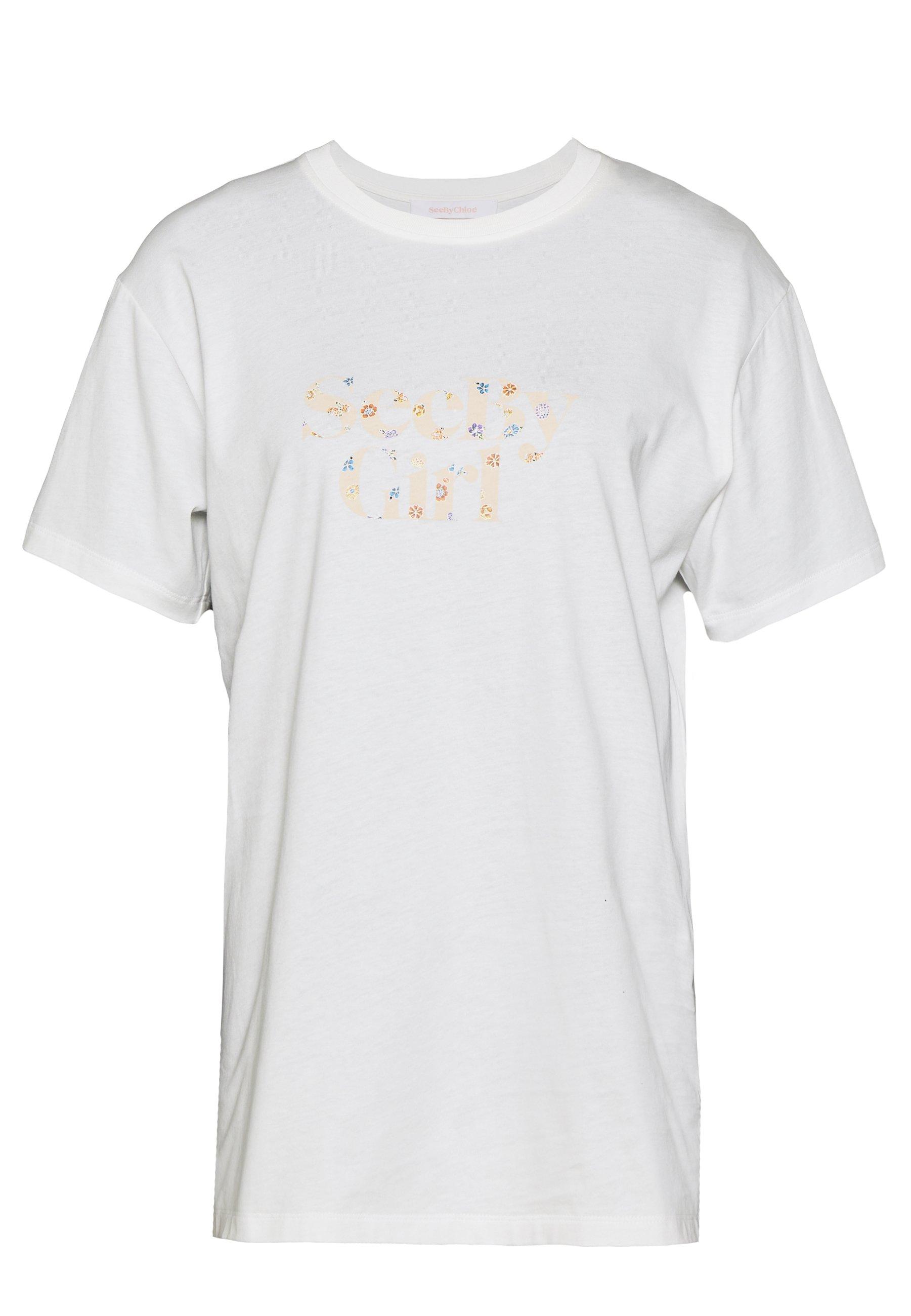 WHITE Printed shirt  See by Chloé  Skjorter - Dameklær er billig