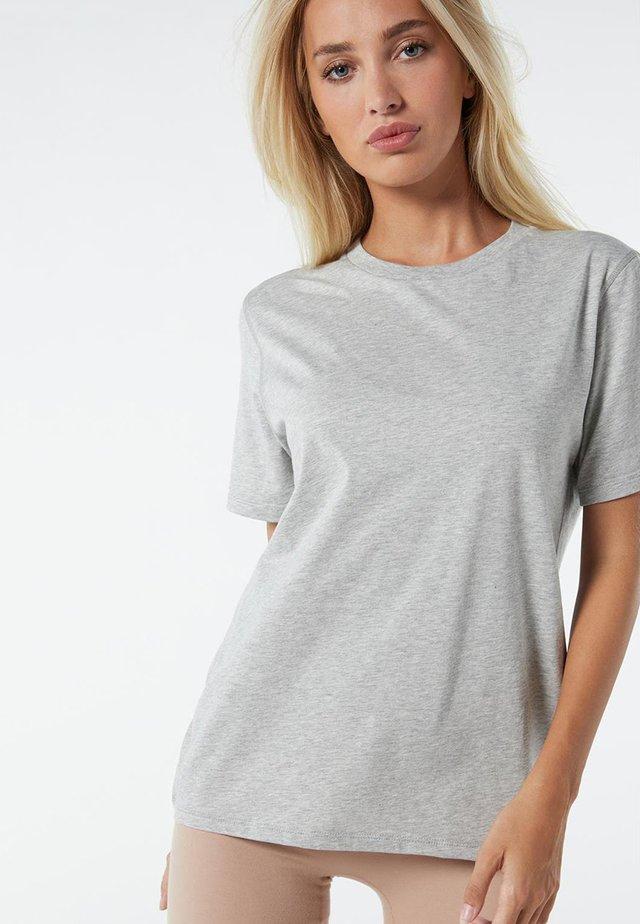 AUS SUPIMA® - T-shirt basique - grigio melange