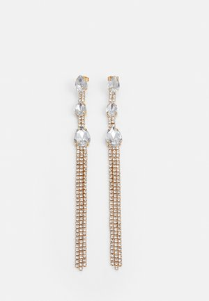 PCSCOOP EARRINGS - Oorbellen - gold-coloured