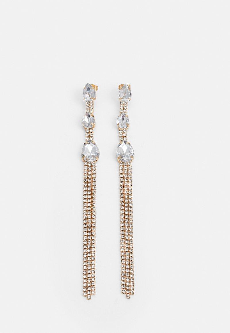 Pieces - PCSCOOP EARRINGS - Boucles d'oreilles - gold-coloured