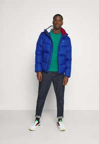 Tommy Jeans - TJM ESSENTIAL DOWN JACKET - Piumino - providence blue - 1