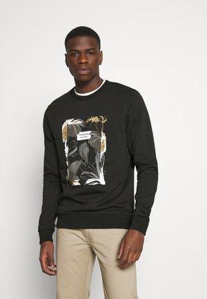 JPRBLAROBERTO CREW NECK - Sweatshirt - black