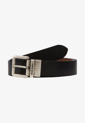 """-"" B-DOUCKLE II - BELT - Belt - black/tobacco brown"