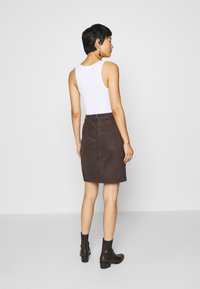 comma - Mini skirt - dark brown - 2