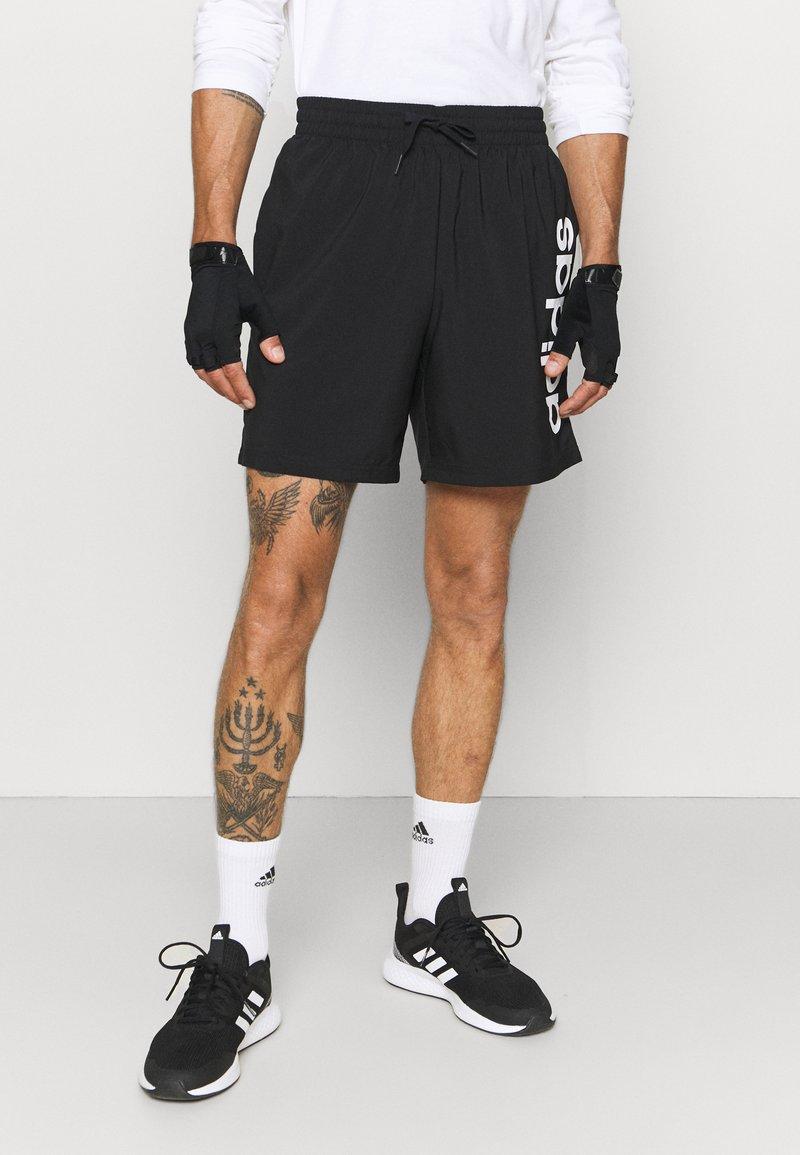 adidas Performance - CHELSEA - Short de sport - black/white