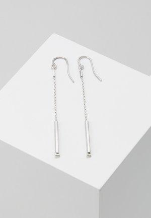EARRING LONG - Korvakorut - silver-coloured