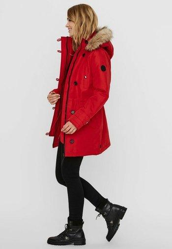 VMEXCURSION - Winter coat - goji berry