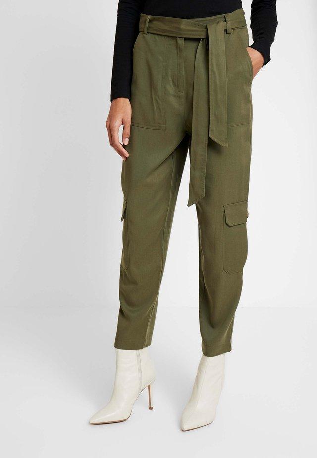 PANT UTILITY - Trousers - khaki