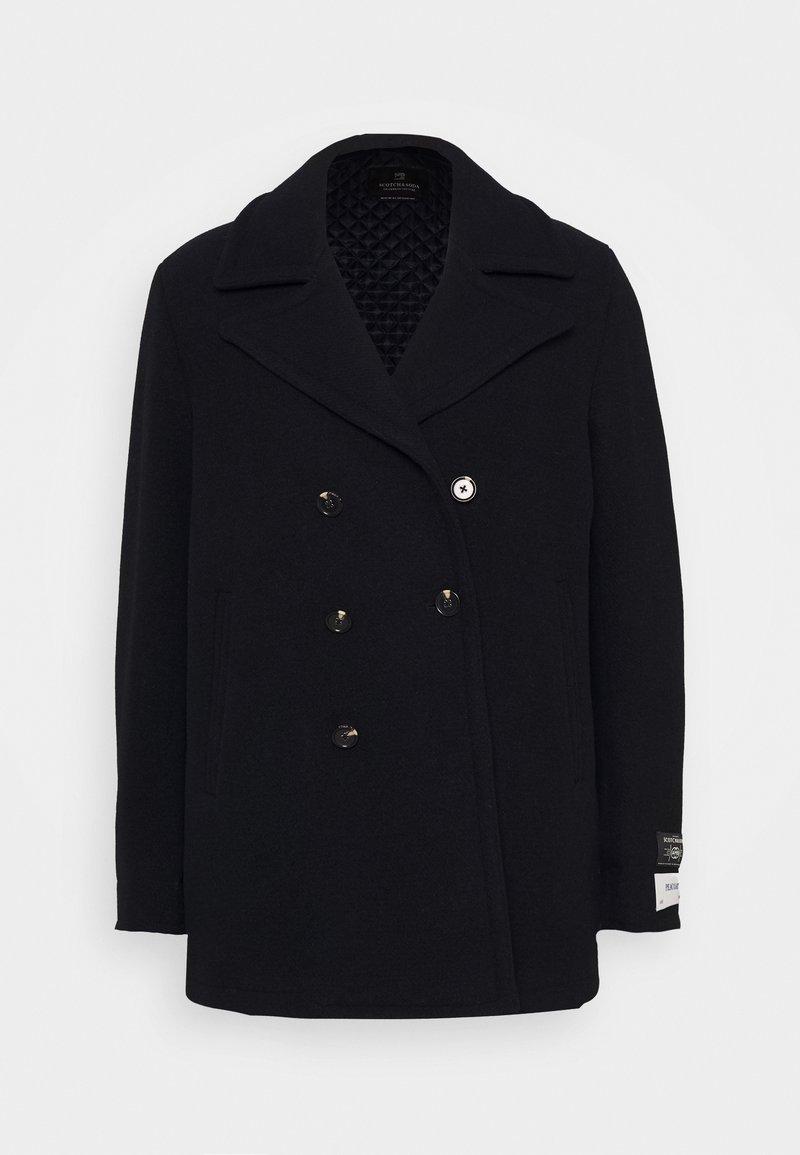 Scotch & Soda - CLASSIC PEACOAT  - Classic coat - night