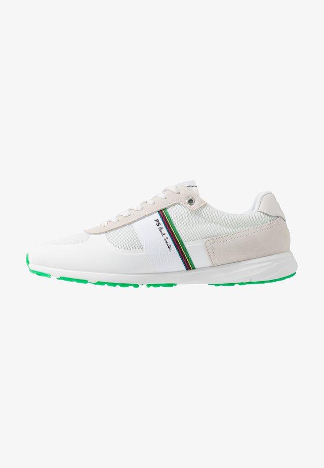 HUEY - Sneakersy niskie - white