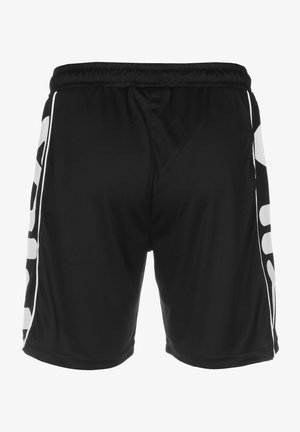 TERITUS - Shorts - black/bright white