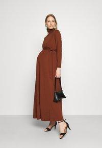 IVY & OAK Maternity - DORIS - Maxi dress - marsalla - 1
