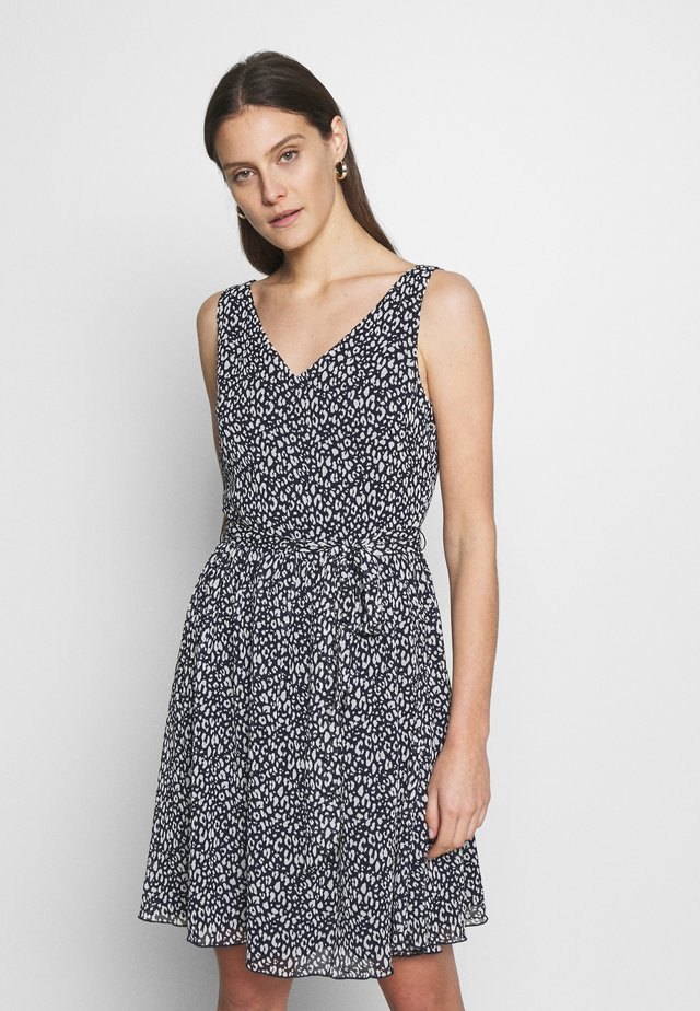 DRESS - Day dress - navy/blue