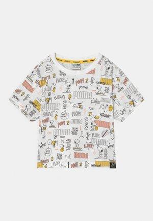 PUMA X PEANUTS UNISEX - Print T-shirt - white