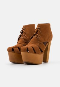 Jeffrey Campbell - FORD - Lace-up ankle boots - tan - 2