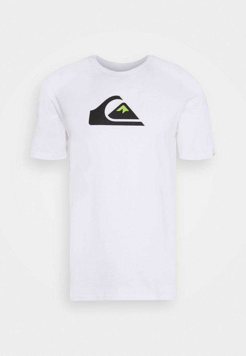 Quiksilver - COMP LOGO - Print T-shirt - white