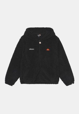 ANGOLA - Fleecová bunda - black