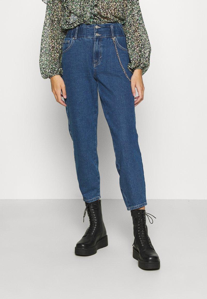 ONLY - ONLLU LIFE - Jeans baggy - medium blue denim