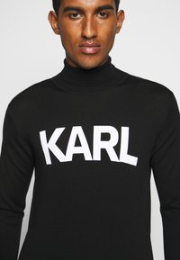 KARL LAGERFELD - ROLLNECK - Jumper - black - 6