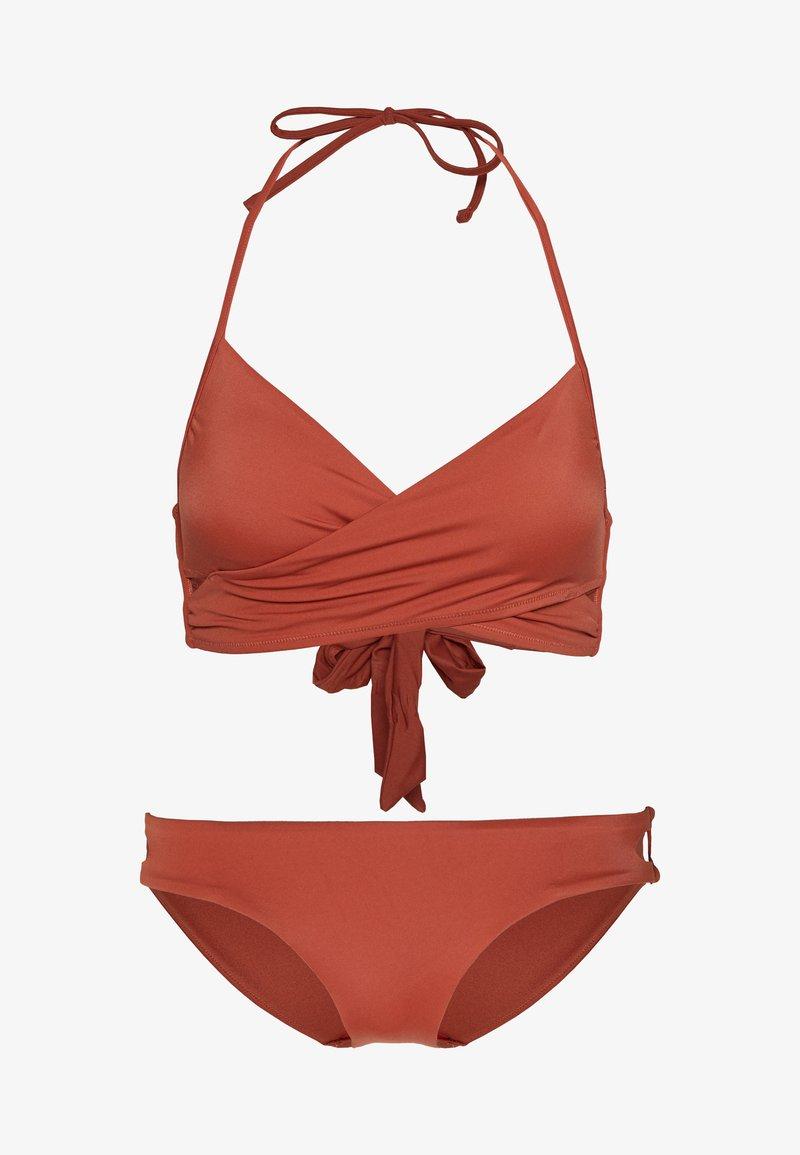 ONLY - ONLJULIE BRIEF SET - Bikini - bruschetta