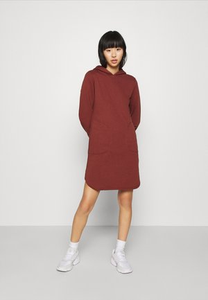ONLELVIRA HOOD DRESS - Kjole - sable
