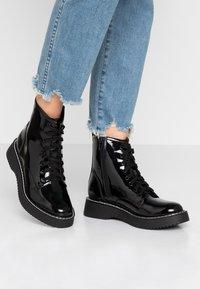 Madden Girl - KURRT - Platform ankle boots - black - 0