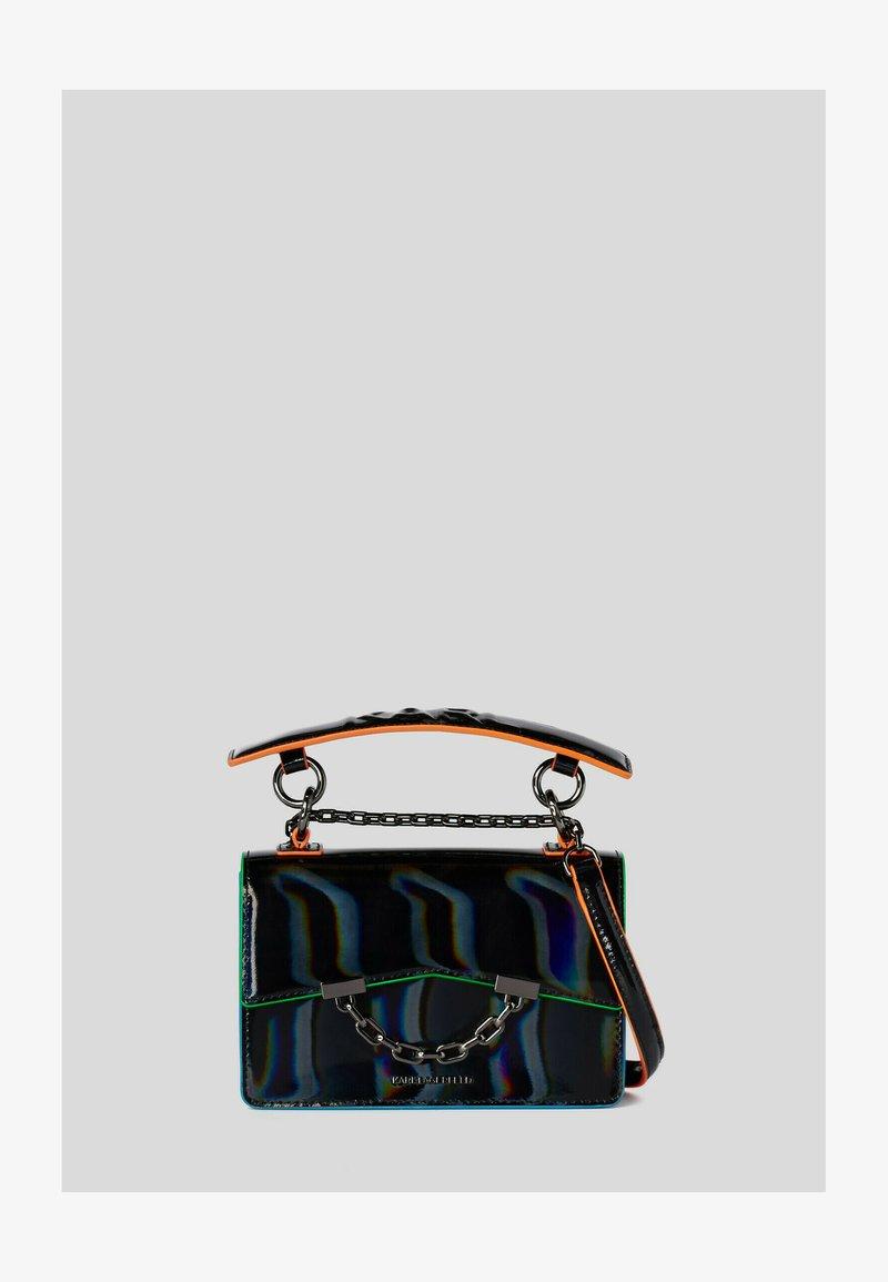 KARL LAGERFELD - SEVEN IRIDESCENT  - Handbag - black