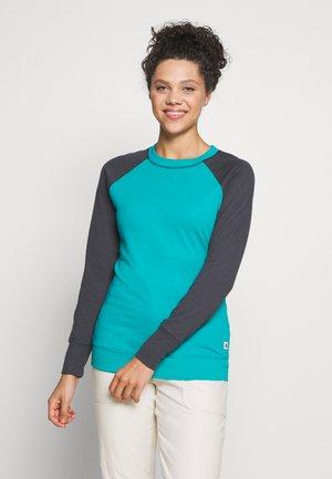 WOMENS LIGHT CREW - Bluza - jaiden green