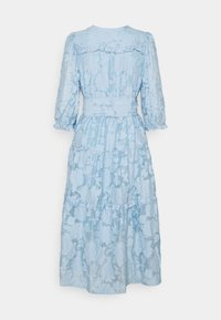 Selected Femme - SLFSADIE MIDI DRESS - Vapaa-ajan mekko - cashmere blue - 1
