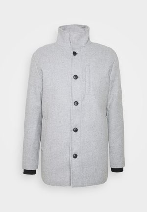 JJDUAL JACKET - Classic coat - light grey melange